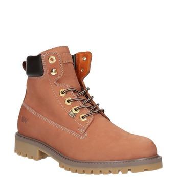Dámská obuv ve stylu Worker Boots weinbrenner, oranžová, 596-5629 - 13