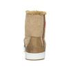 Dámská kotníčková obuv s kožíškem bata, hnědá, 599-4606 - 17