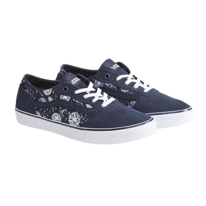 Dámské tenisky Vans vans, modrá, 503-9643 - 26