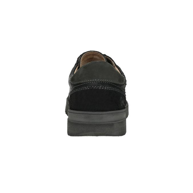 Pánské ležérní tenisky weinbrenner, černá, 843-6620 - 17