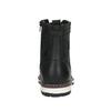 Pánská obuv ke kotníkům bata, černá, 896-6641 - 17