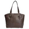 Dámská kožená kabelka hnědá bata, hnědá, 964-4205 - 26