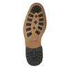 Kožená kotníčková obuv pánská bata, černá, 894-6660 - 26