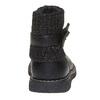 Dětská obuv s úpletem mini-b, černá, 291-6154 - 17