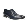 Modré kožené polobotky bata, modrá, 826-9769 - 13