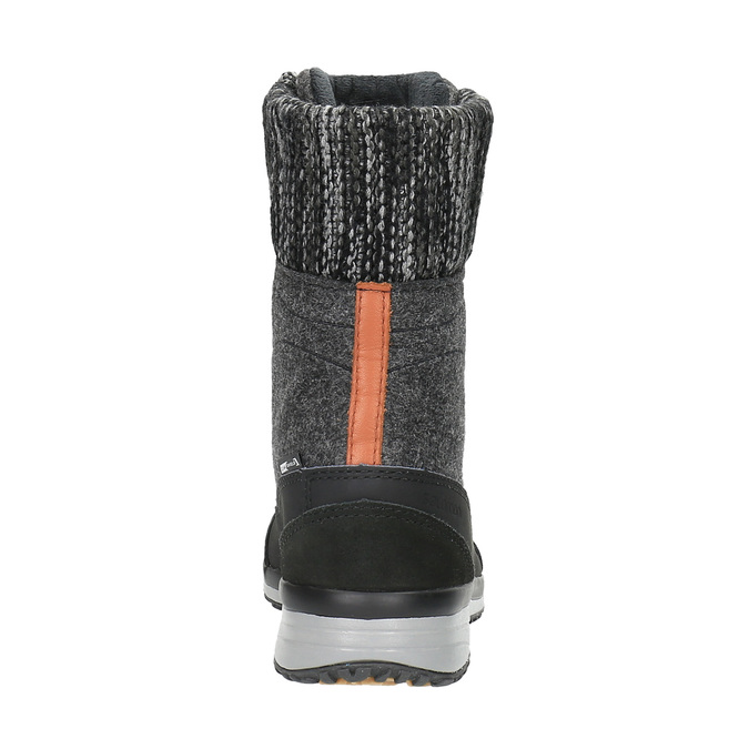 Dámská zimní obuv salomon, šedá, 693-6050 - 17