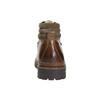 Kožená zimní obuv pánská bata, hnědá, 894-4180 - 17
