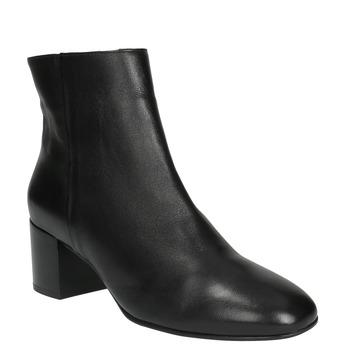 Kožená kotníčková obuv hogl, černá, 794-6003 - 13