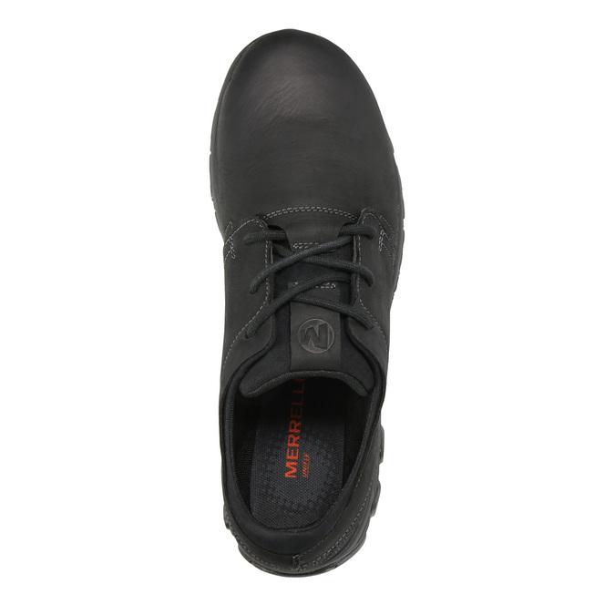 Kožené pánské tenisky merrell, černá, 806-6846 - 19