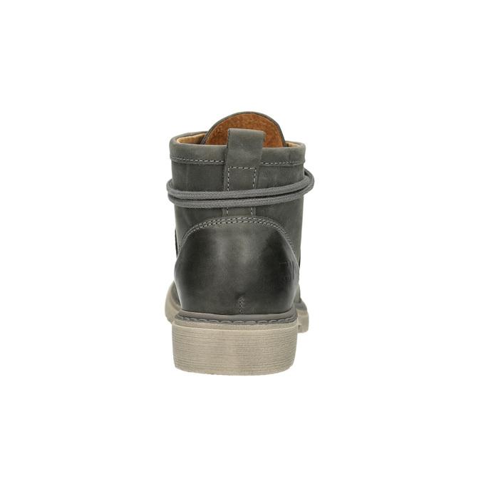 Dámská kotníčková obuv weinbrenner, šedá, 594-2409 - 17