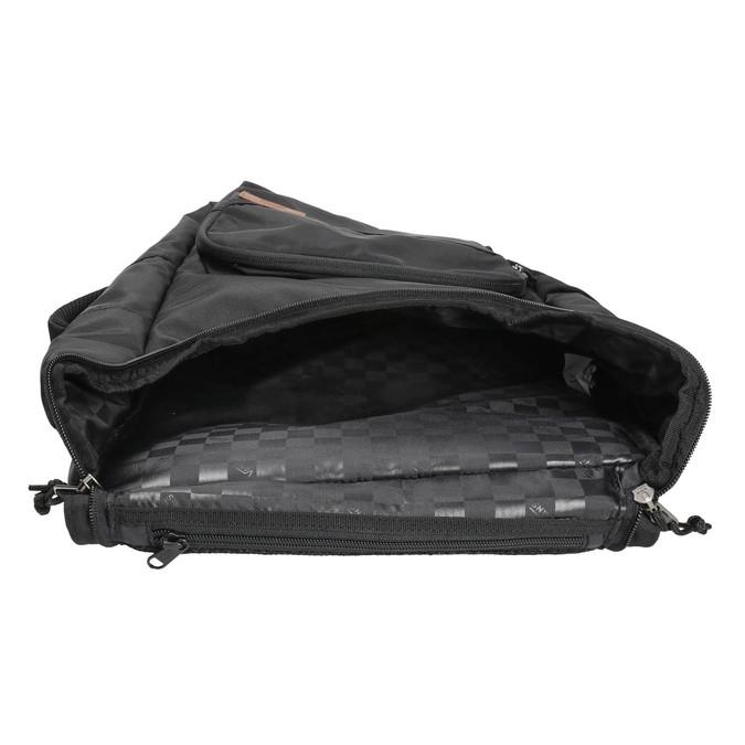 Batoh s bočním úchytem vans, černá, 969-6006 - 15