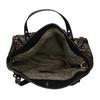 Dámská kabelka s flitry cafe-noir, černá, 961-6012 - 15