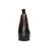 Kožené Chelsea Boots s Brogue zdobením, hnědá, 894-3009 - 17