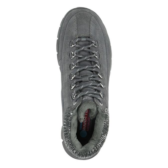 Dámská zimní obuv sportovní skechers, šedá, 503-2357 - 19