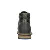 Pánská kožená obuv kotníčková bata, šedá, 894-2621 - 17