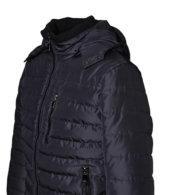 Prošívaná pánská bunda se zipy bata, modrá, 979-2632 - 16
