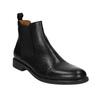 Pánské kožené Chelsea Boots vagabond, černá, 894-6002 - 13