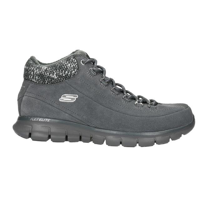 Dámská zimní obuv sportovní skechers, šedá, 503-2357 - 15