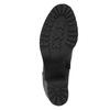 Kožená kotníčková obuv na masivním podpatku vagabond, černá, 794-6002 - 26