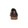 Celokožené polobotky s pleteným vzorem bata, hnědá, 826-3775 - 17