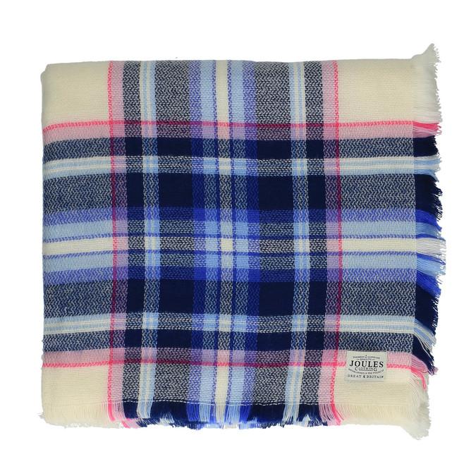 Šátek s kostkovaným potiskem joules, modrá, 929-8013 - 26