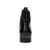 Kožené dámské Chelsea Boots hogl, černá, 618-6001 - 17
