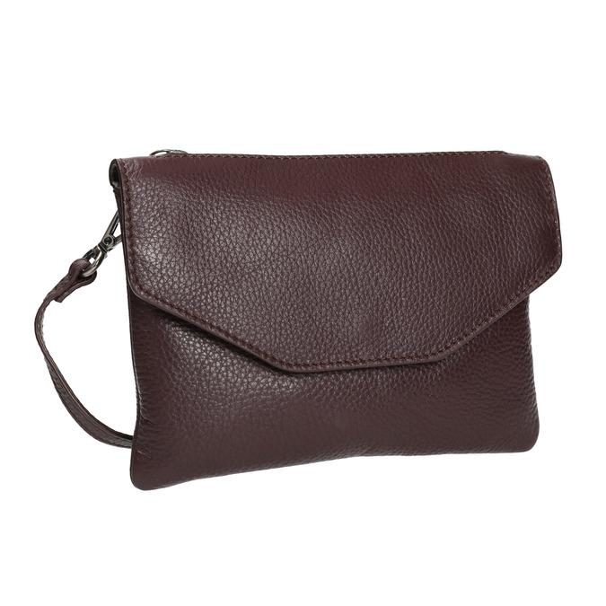 Dámská kožená Crossbody kabelka bata, červená, 964-5210 - 13