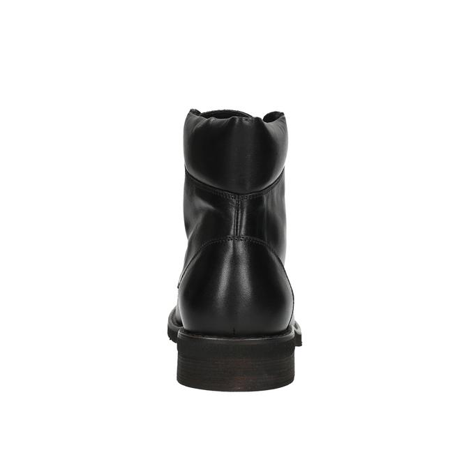 Kotníčková pánská obuv bata, černá, 894-6673 - 17