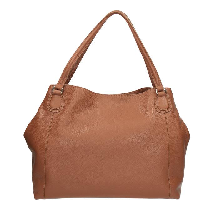 Hnědá kožená kabelka bata, hnědá, 964-3215 - 19