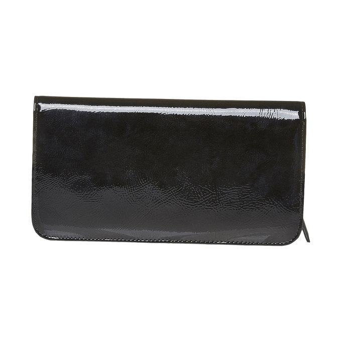 Dámská lakovaná peněženka bata, černá, 941-6144 - 26
