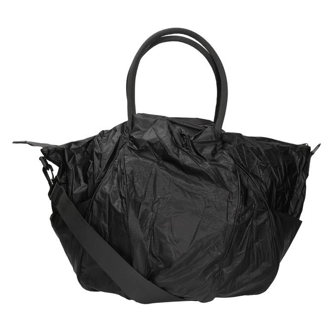 Textilní sportovní kabelka bjorn-borg, černá, 969-6031 - 19