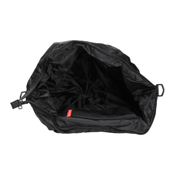 Textilní sportovní kabelka bjorn-borg, černá, 969-6031 - 15