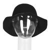 Dámský klobouk s prošitím bata, černá, 909-6294 - 16