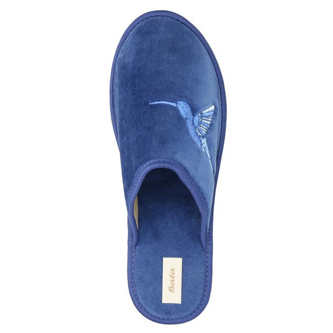 Modré domácí pantofle dámské bata, modrá, 579-9608 - 19