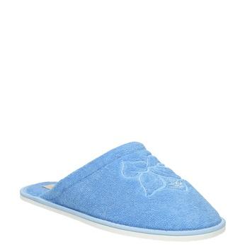Dámská domácí obuv modrá bata, modrá, 579-9610 - 13