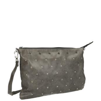 Menší kabelka s hvězdami bata, šedá, 969-3631 - 13