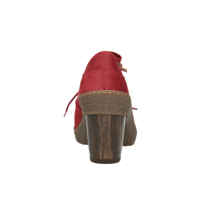 Elegantní kotníčková obuv el-naturalista, červená, 726-5045 - 17
