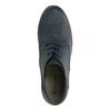 Kotníčková obuv na stabilním podpatku el-naturalista, modrá, 724-9045 - 19
