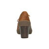 Kožená kotníčková obuv se šněrováním el-naturalista, hnědá, 726-4045 - 17