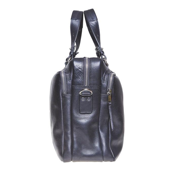 Kožená taška bata, černá, 964-6106 - 17