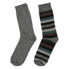 Pánské ponožky 2 páry bata, šedá, 919-2411 - 26
