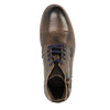 Pánská obuv s výraznou podešví bata, hnědá, 894-4651 - 19