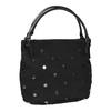 Dámská kabelka s kovovými cvoky bata, černá, 961-6256 - 13