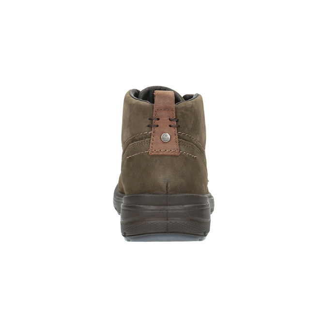 Kožené kotníkové boty bata, hnědá, 896-4226 - 17