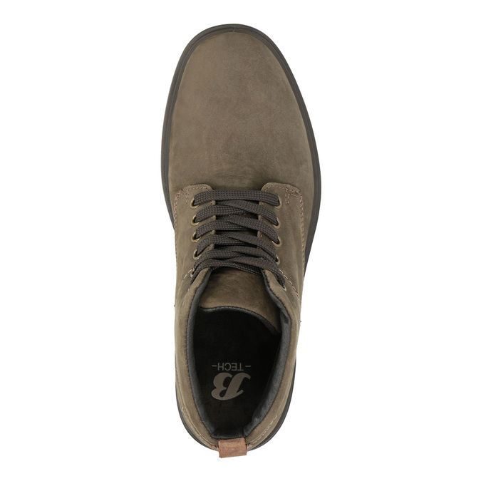 Kožené kotníkové boty bata, hnědá, 896-4226 - 19