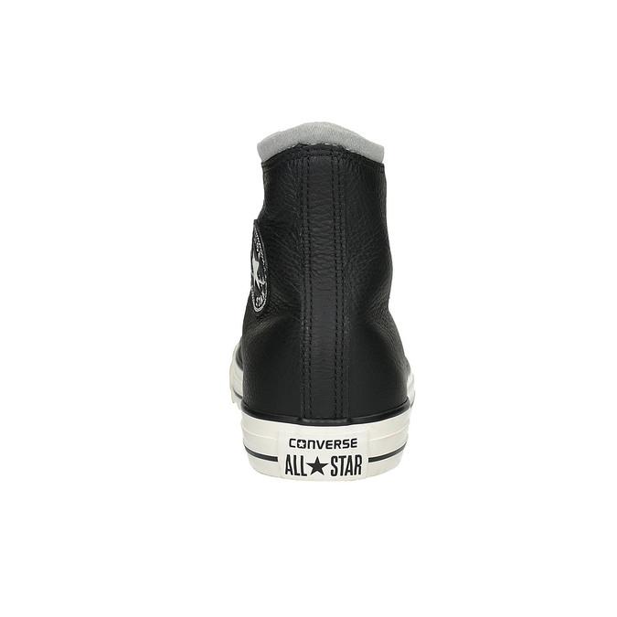 Kožené kotníčkové tenisky converse, černá, 846-6081 - 17