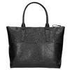 Černá kožená kabelka bata, černá, 966-6201 - 26