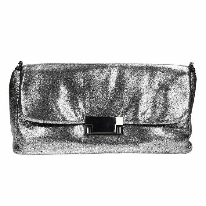 Dámské stříbrné psaníčko bata, stříbrná, 969-1220 - 26