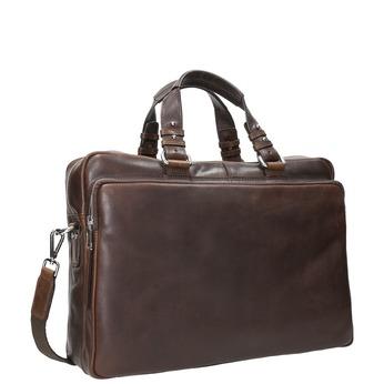 Kožená taška bata, hnědá, 964-4106 - 13