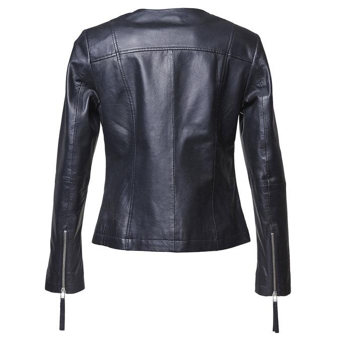 Elegantní kožená bunda bata, černá, 974-6312 - 26
